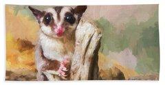 Sugar Glider - Painterly Bath Towel