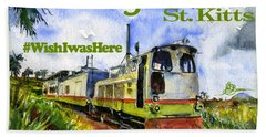 Sugar Train St. Kitts Shirt Bath Towel