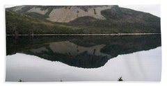 Hand Towel featuring the photograph Sugarloaf Hill Reflections by Barbara Griffin