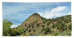 Hand Towel featuring the photograph Sugarloaf Mountain In Six Mile Canyon by Benanne Stiens