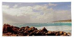 Sugarloaf Rock Panorama I Hand Towel