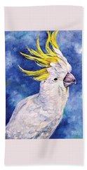 Sulphur-crested Cockatoo Hand Towel
