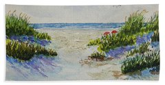Summer Beach Hand Towel
