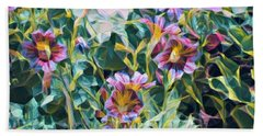 Summer Blossoms Bath Towel
