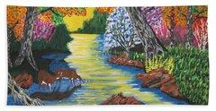 Summer Crossing Bath Towel by Jeffrey Koss