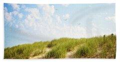 Bath Towel featuring the photograph Summer Dunes by Melanie Alexandra Price