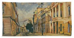 Summer Evening Pall Mall London Bath Towel