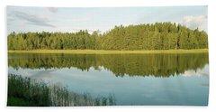 Summer Finland Archipelago Bath Towel
