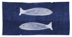 Summer Fish- Art By Linda Woods Bath Towel