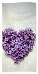 Summer Heart Hand Towel