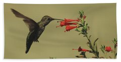 Summer Hummer Hand Towel