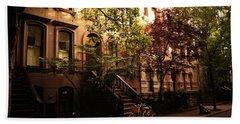 Summer In New York City - Greenwich Village Hand Towel