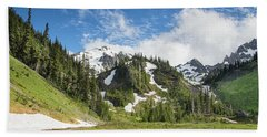 Summer In Olympic National Park Bath Towel