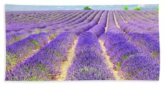 Summer In Provence Bath Towel by Anastasy Yarmolovich