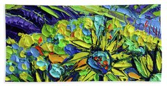 Summer In Provence Hand Towel
