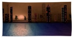 Summer In The City Hand Towel