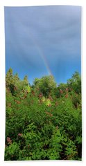 Hand Towel featuring the photograph Summer Light by Rose-Marie Karlsen