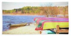 Summer Memories Bath Towel by Wade Brooks