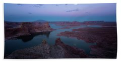 Bath Towel featuring the photograph Summer Night by Edgars Erglis