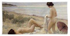 Summer On The Beach Hand Towel