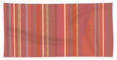 Bath Towel featuring the digital art Summer Peach by Val Arie