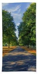 Summer Road Bath Towel by Ian Mitchell