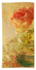 Summer Rose Bath Towel