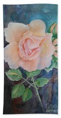 Summer Rose - Painting Hand Towel