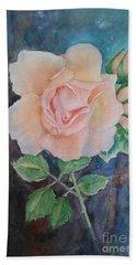 Summer Rose - Painting Bath Towel