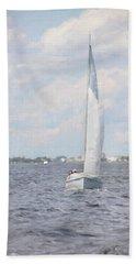 Summer Sail Hand Towel