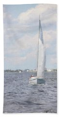 Summer Sail Bath Towel