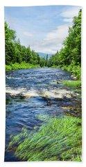 Summer Scene Rangeley Maine  -70742 Bath Towel