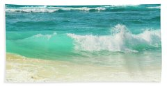 Hand Towel featuring the photograph Summer Sea by Sharon Mau