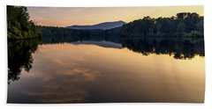 Price Lake Sunset - Blue Ridge Parkway Hand Towel