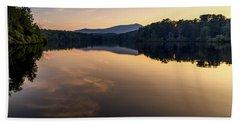 Price Lake Sunset - Blue Ridge Parkway Bath Towel