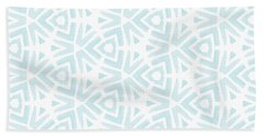 Summer Splash- Pattern Art By Linda Woods Bath Towel