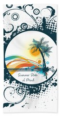 Summer State Of Mind Hand Towel