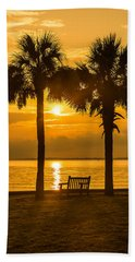 Summer Sunrise - Charleston Sc Hand Towel