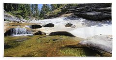 Hand Towel featuring the photograph Summer Swimming Hole by Sean Sarsfield