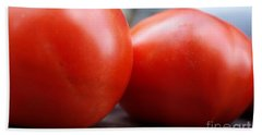 Hand Towel featuring the photograph Summer Tomatoes  by John S