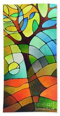 Summer Tree Hand Towel
