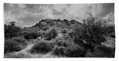 Hand Towel featuring the photograph Summer Valley Vista H18 by Mark Myhaver