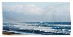 Summer Waves Netarts Oregon Hand Towel