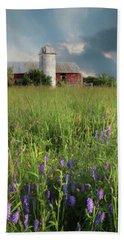 Summer Wildflowers Hand Towel by Lori Deiter