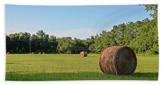 Bath Towel featuring the photograph Summer's Bounty by Linda Brown