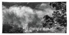 Bath Towel featuring the photograph Summer's Leaving by Steven Huszar