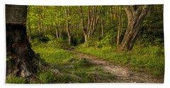 Price Lake Trail - Blue Ridge Parkway Bath Towel