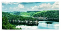 Summertime At Long Point Bath Towel by Mark Allen