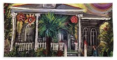 Summertime New Orleans Hand Towel