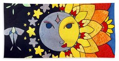 Sun And Moon Bath Towel